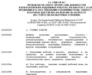 Изображение - Список профессий имеющих право на досрочную пенсию spisok1